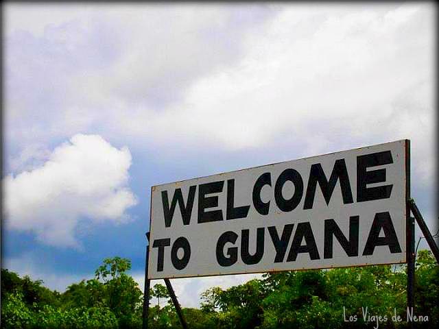 bienvenidos a Guyana