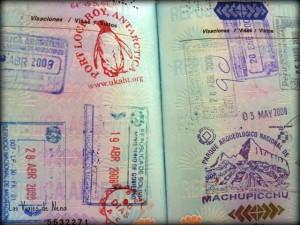 hoja pasaporte
