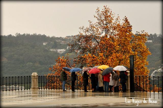 lluvia de Portgual