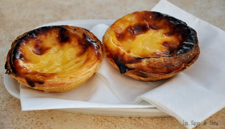 pasteles de belem que comer en portugal