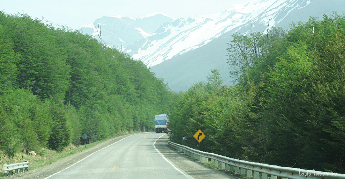 Ruta para viajar a Ushuaia en auto