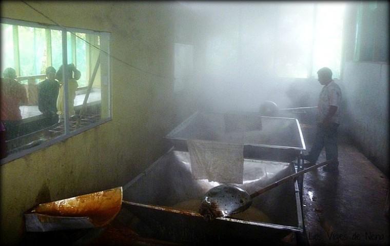 trapiche donde se produce la panela, otro clásico de la gastronomía