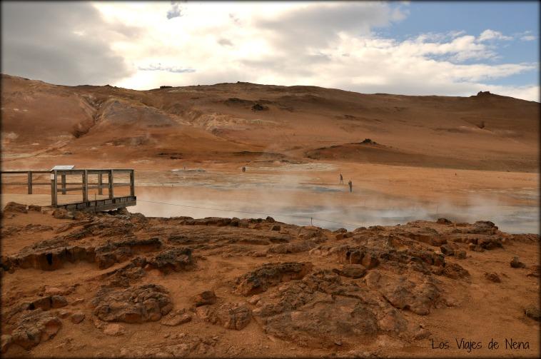 fuentes geotermales paisajes de islandia