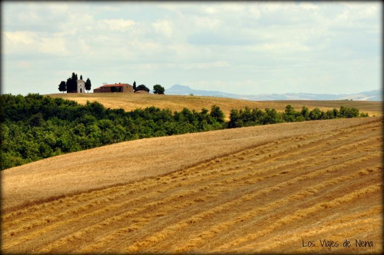 Paisajes rurales de un viaje por Toscana