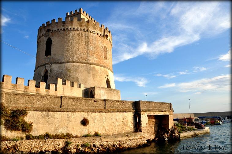 Torre vado, en Puglia, Italia