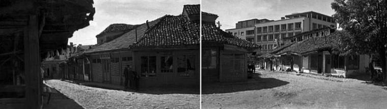 antiguo bazar de pristina