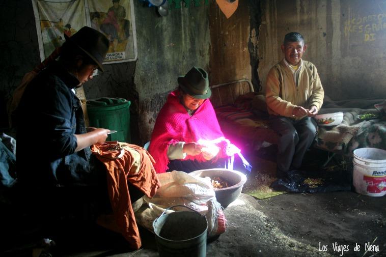 comunidades en quilotoa