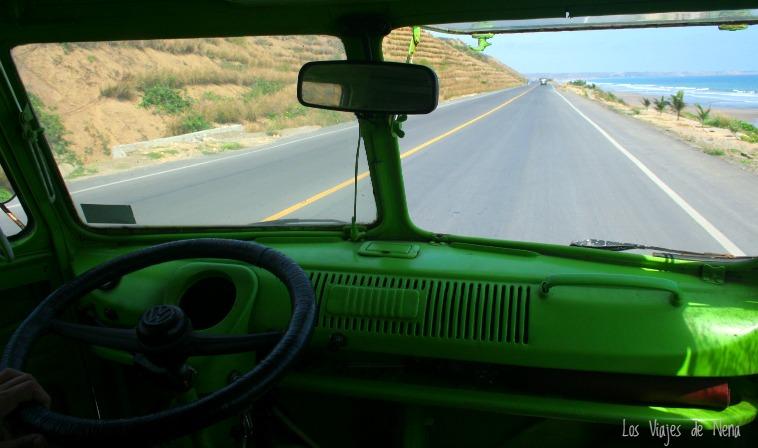 viajar en auto por ecuador