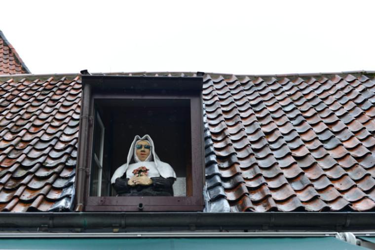 Suerte que vimos el convento...