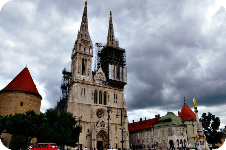 La catedral de Zagreb es obra de Bolle. Se inspiró en la catedral de su Colonia natal.