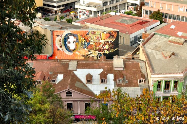 Murales de Valparaíso desde otra perspectiva