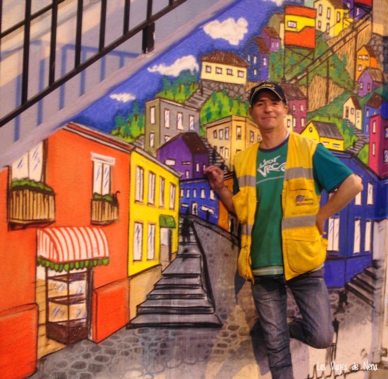 Los murales de Valparaíso ponen el arte al alcance de todos
