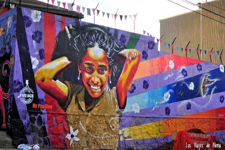 Los murales de Valparaíso derrochan expresividad