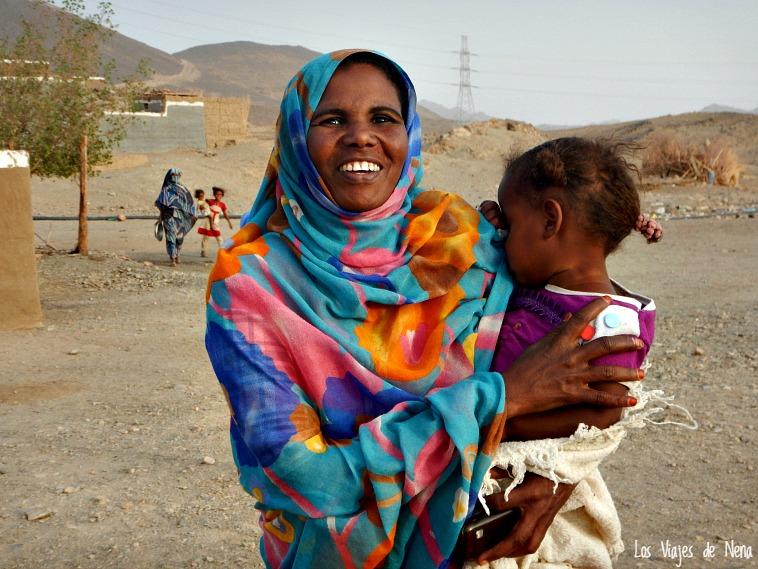 Las aldeas nubias son otras de las cosas que ver en Sudán