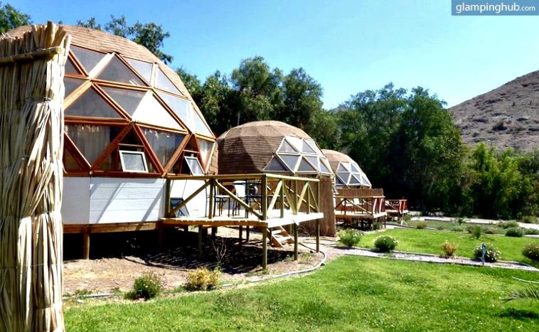Estos domos de madera están en Chile