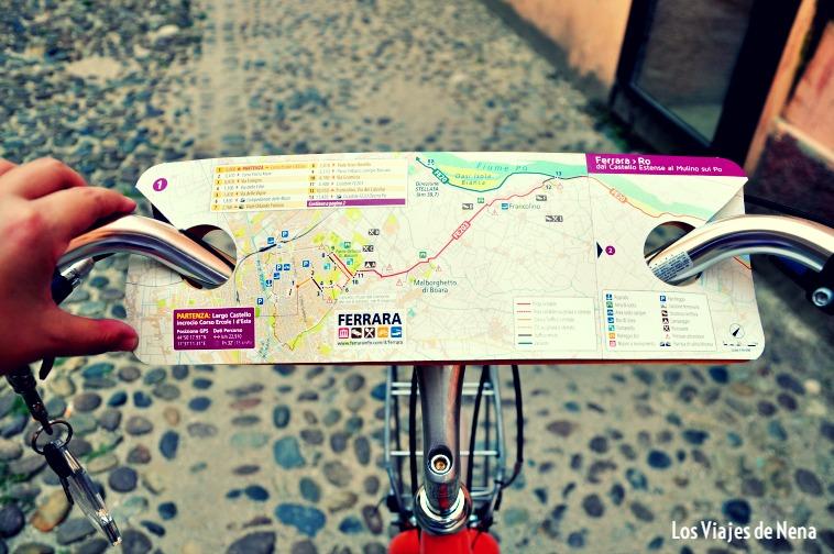 Andar en bicicleta por Ferrara es un must a la hora de pensar en cosas que hacer en el norte de Italia