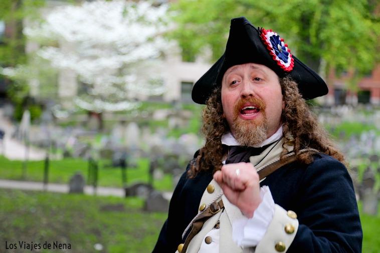 El freedom trail, una de las cosas que ver y que hacer en Boston