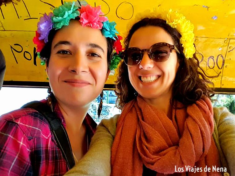 Paseo en trajineras de Xochimilco, con amigos
