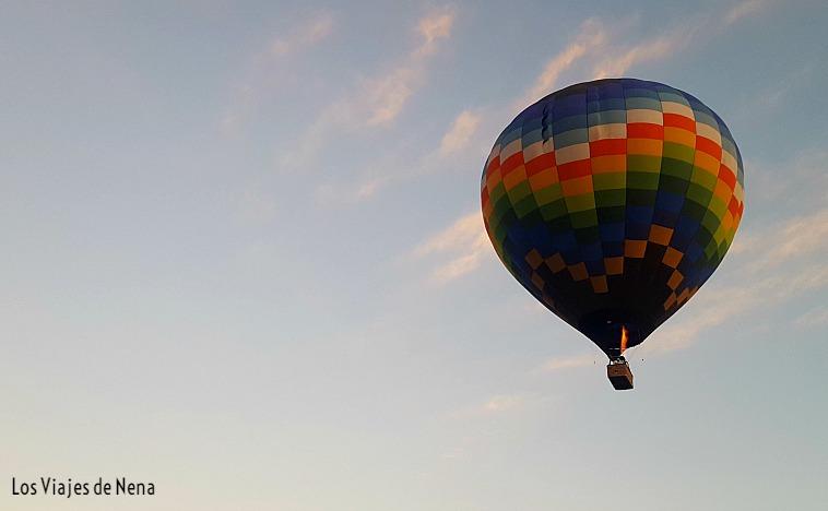 volar en globo aerostático en Teotihuacán