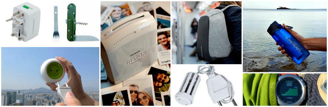 gadgets útiles para un viaje largo