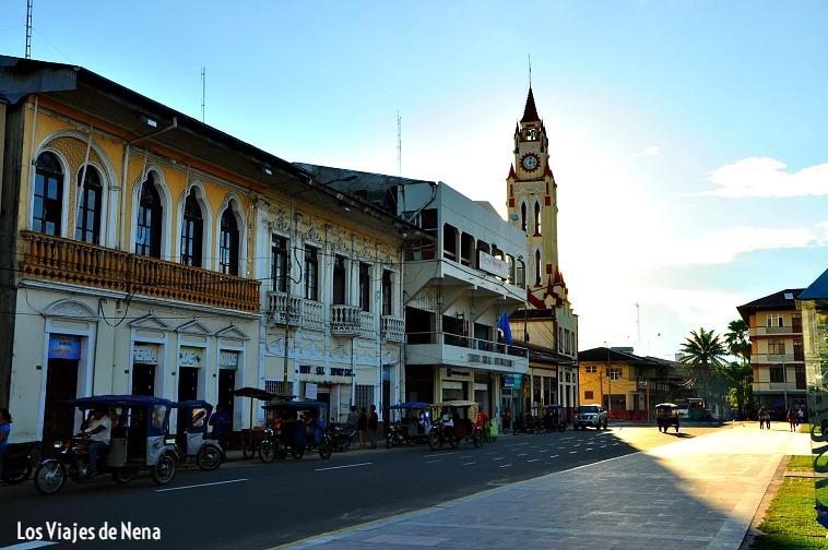 centro de la ciudad de Iquitos