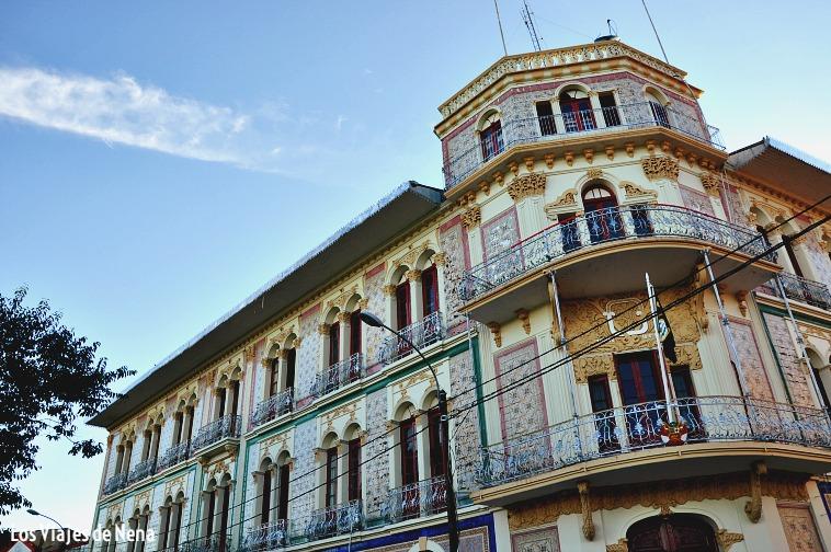 Antiguo Hotel Palace, parte del recorrido por Iquitos.