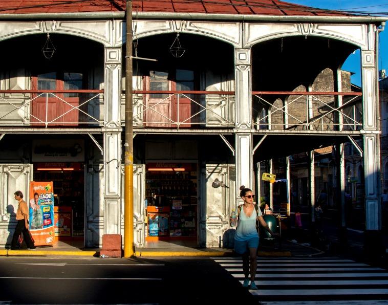 casa de fierro en el centro de Iquitos