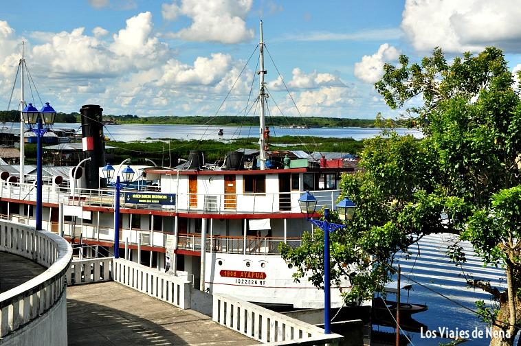 El Ayapua, el barco museo