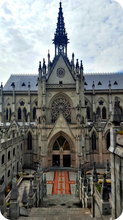 La Basílica, un imperdible si vas a viajar a Quito en 3 días.