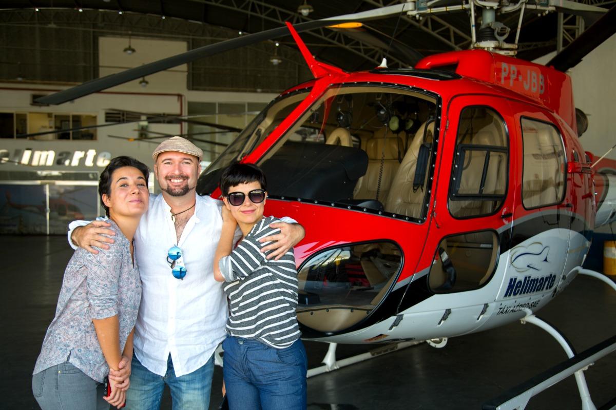 Volar en helicóptero es una de las cosas que ver y que hacer en Sao Paulo