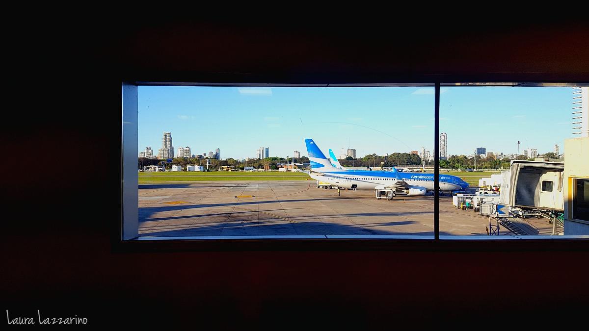 Volar desde Aeroparque, una de las opciones para viajar a Santiago de Chile