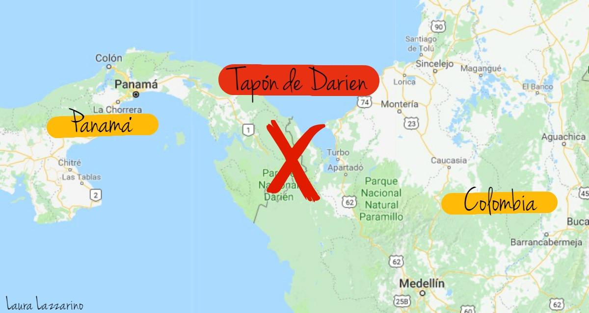 Información útil para viajar a Panamá: por qué no se puede cruzar el Tapón de Darien