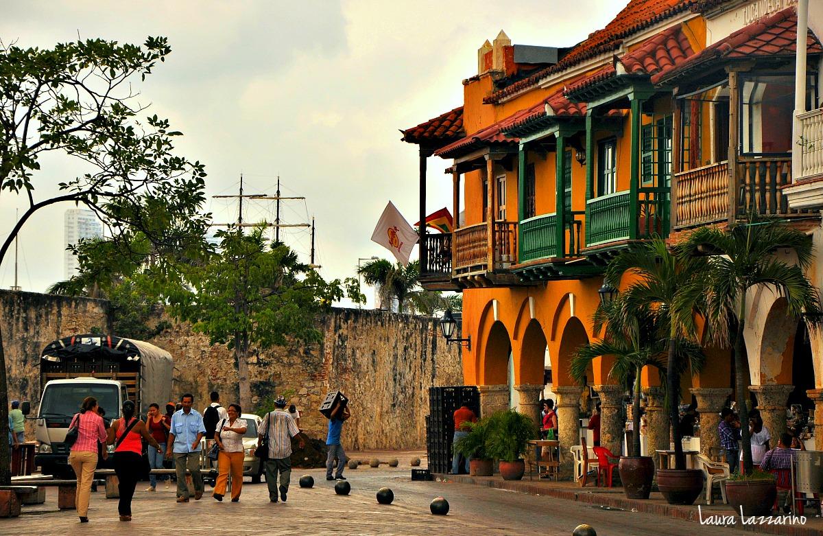 La ciudad amurallada es una de las opciones para hospedarse en Cartagena, Colombia.
