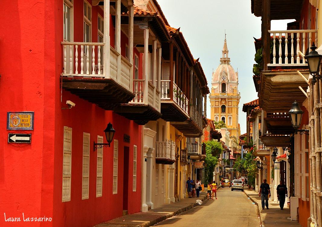 Calles de la ciudad Amurallada, punto obligado de cualquier viaje a Cartagena