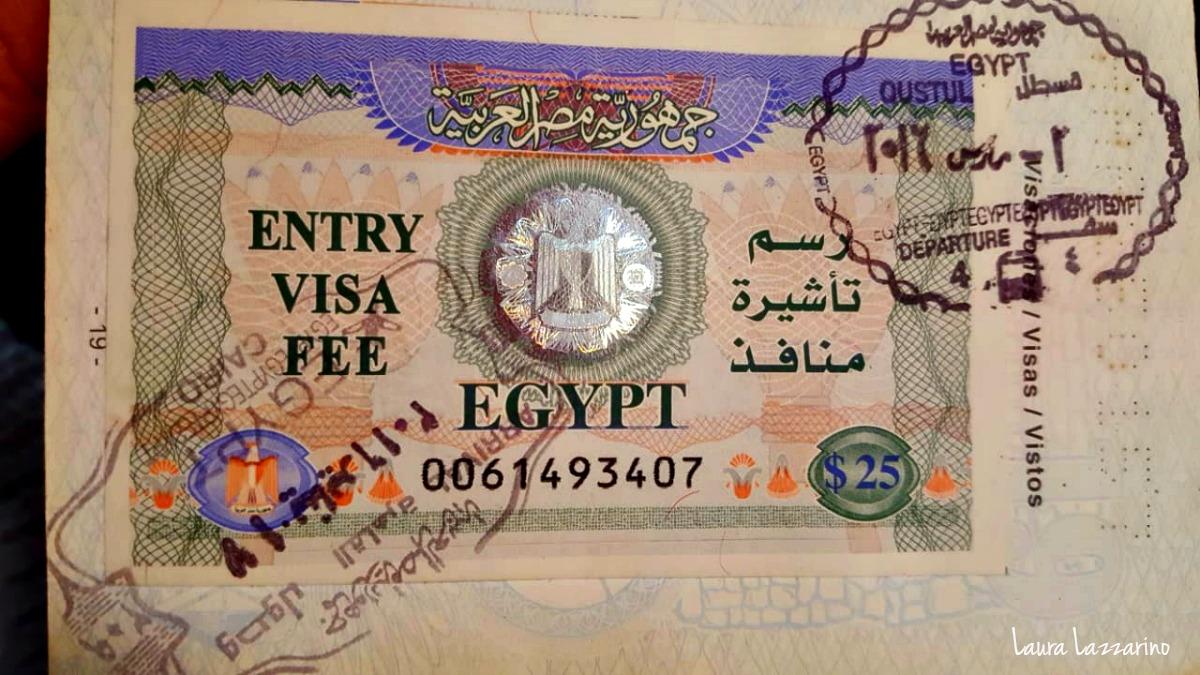 Visas para viajar a África, visa de Egipto.