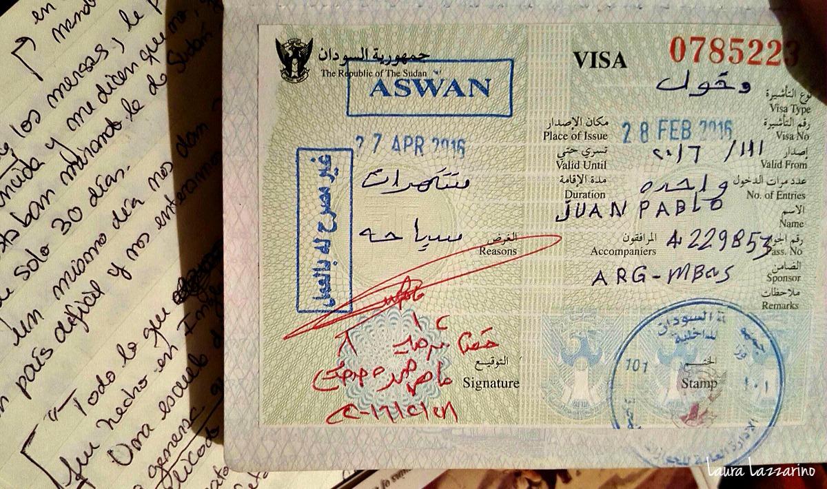 visa de sudan