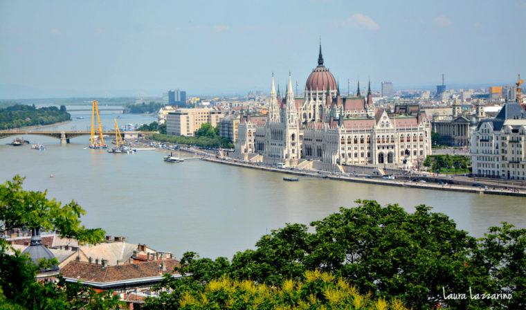 Las vistas de la ciudad desde el Castillo de Buda son uno de los imperdibles de Budapest