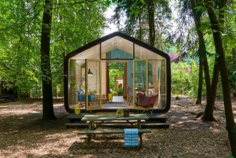 Naturehouse es una plataforma que nuclea alojamientos alternativos inmersos en la naturaleza.