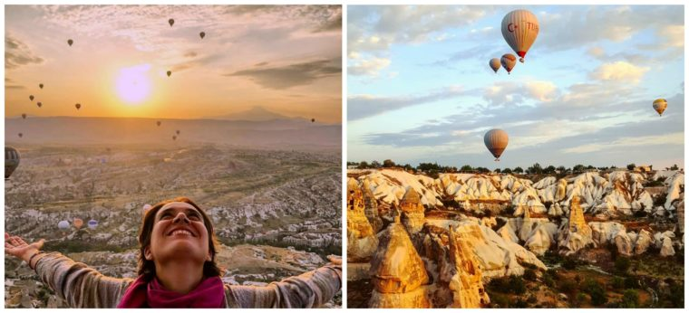 Volar en globo, definitivamente uno de los mejores destinos para viajar en 2021
